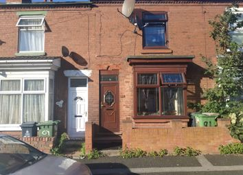 Thumbnail 2 bed terraced house to rent in Essex Street, Walsall, West Midlands