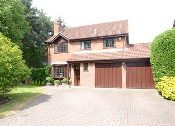 Thumbnail 4 bed detached house for sale in Evesham Walk, Heath Park, Sandhurst