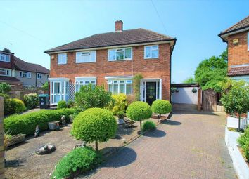 Thumbnail 3 bed semi-detached house for sale in Bramham Gardens, Chessington