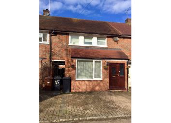 Thumbnail 3 bed terraced house for sale in Aycliffe Road, Borehamwood