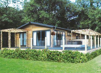 Thumbnail 3 bed mobile/park home for sale in Fornham Park, Fornham St. Genevieve, Bury St. Edmunds