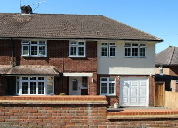 Thumbnail 4 bed semi-detached house for sale in Brimmers Hill, Widmer End, High Wycombe