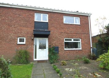 Thumbnail 4 bedroom semi-detached house for sale in Honey Close, East City, Norwich