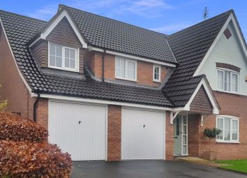 Thumbnail 5 bed detached house for sale in Meynellfield, Loggerheads, Market Drayton