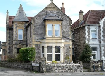 Thumbnail 3 bed flat for sale in Ashcombe Road, Weston-Super-Mare