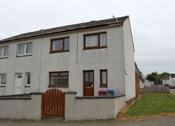 Thumbnail 3 bed semi-detached house for sale in Raffan Road, Buckie