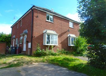 Thumbnail 1 bed town house to rent in Slade Close, Broadmeadows, South Normanton, Alfreton
