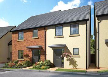 Thumbnail 2 bedroom semi-detached house for sale in Meldon Fields, Okehampton, Devon