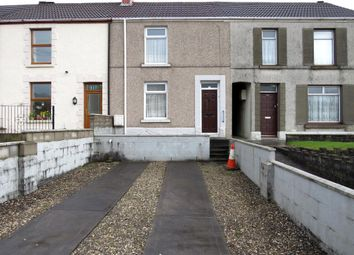 Thumbnail 2 bed terraced house for sale in Llangyfelach Road, Tirdeunaw, Swansea