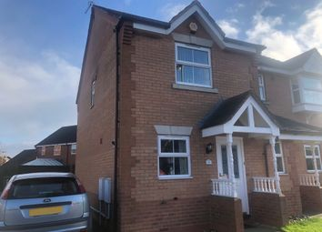 Thumbnail 2 bed semi-detached house for sale in The Brambles, Norton Canes, Cannock