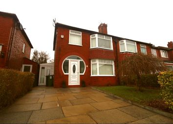 Thumbnail 3 bed semi-detached house for sale in Melton Avenue, Denton, Manchester
