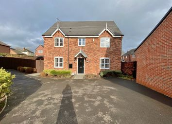 Thumbnail 4 bed detached house for sale in Holywell Fields, Hinckley, Leicestershire