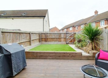 Thumbnail 4 bed terraced house for sale in Lord Nelson Drive, Costessey