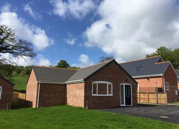 Thumbnail 3 bed bungalow for sale in Swallows Meadow, Castle Caereinion, Welshpool