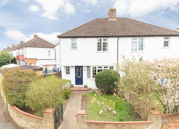 Thumbnail 3 bed semi-detached house for sale in Cottimore Crescent, Walton-On-Thames, Surrey