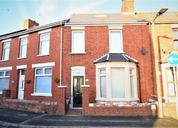 Thumbnail 3 bed terraced house for sale in Glamorgan Street, Barry