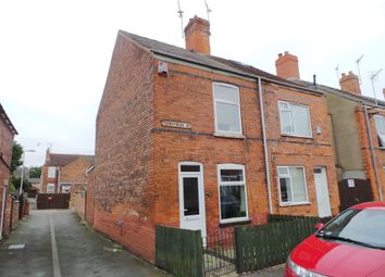 Thumbnail 2 bed semi-detached house for sale in Tennyson Street, Gainsborough