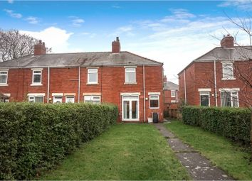 Thumbnail 2 bed end terrace house for sale in Clavering Place, Stanley