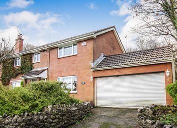 Thumbnail 4 bed semi-detached house for sale in Merthyr Mawr, Bridgend