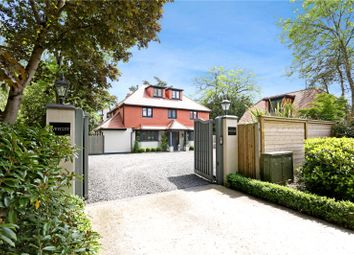 Thumbnail 5 bed detached house for sale in Parvis Road, Byfleet, West Byfleet, Surrey