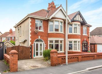 Thumbnail 4 bed semi-detached house for sale in Beaufort Avenue, Blackpool