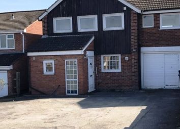 Thumbnail 4 bed detached house to rent in Wakerley Road, Leicester