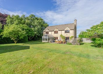 Thumbnail 4 bed detached house for sale in Court Gardens, Stanton St. Quintin, Chippenham