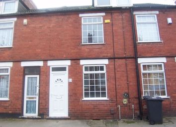 Thumbnail 3 bed terraced house to rent in Morley Street, Sutton-In-Ashfield, Nottinghamshire