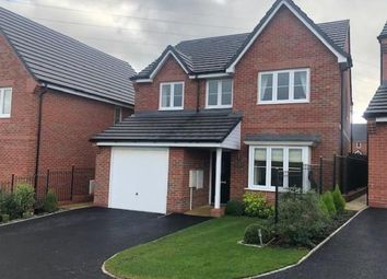 Thumbnail 4 bed detached house for sale in Fernilee Close, Stoke-On-Trent, Staffordshire