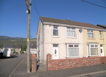 Thumbnail 3 bed semi-detached house for sale in Cedar Street, Cwmgwrach, Neath