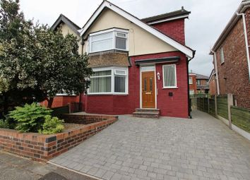 Thumbnail 3 bedroom semi-detached house for sale in Holyrood Road, Prestwich, Manchester