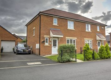 Thumbnail 3 bed semi-detached house for sale in Corona Court, Stockton-On-Tees
