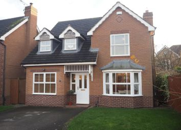 Thumbnail 4 bed detached house for sale in Newbury Road, Newark