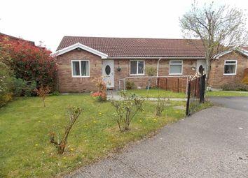 Thumbnail 2 bed semi-detached bungalow for sale in Ffordd Catraeth, Cilfynydd, Pontypridd