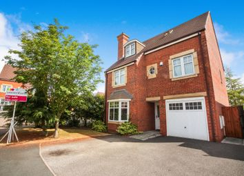Thumbnail 4 bedroom detached house for sale in Kidston Drive, Crewe