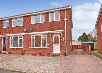 Thumbnail 3 bed semi-detached house for sale in Heather Drive, Whitby