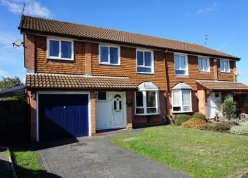 Thumbnail 4 bed semi-detached house for sale in Shackleton Way, Reading