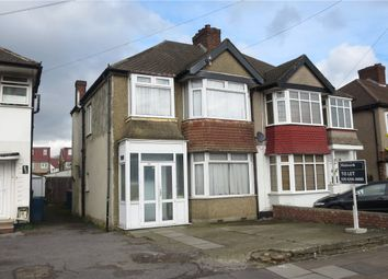 Thumbnail 3 bed semi-detached house to rent in Streatfield Road, Harrow