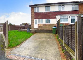 Thumbnail 3 bedroom end terrace house to rent in Worthing Road, Rustington, Littlehampton