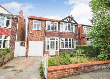Thumbnail 4 bed detached house for sale in Ambleside Road, Flixton, Manchester
