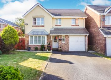Thumbnail 4 bed detached house for sale in Llys Eglwys, Bridgend