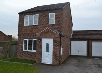 Thumbnail 3 bed detached house to rent in Amcotts, Scunthorpe