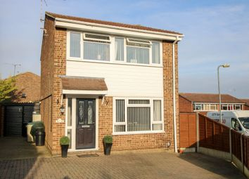Thumbnail 3 bed detached house for sale in Peal Road, Saffron Walden
