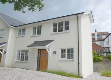 Thumbnail 2 bed property to rent in Clarence Road, Budleigh Salterton