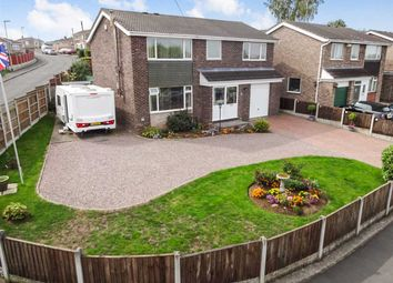 Thumbnail 4 bed detached house for sale in Cambridge Drive, Washingborough, Lincoln