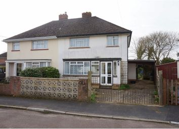 Thumbnail 3 bed semi-detached house for sale in Wainsford Close, Pennington