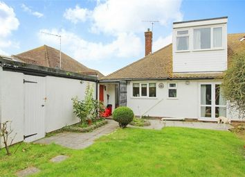 Thumbnail 2 bed semi-detached bungalow for sale in Capel Close, Broadstairs