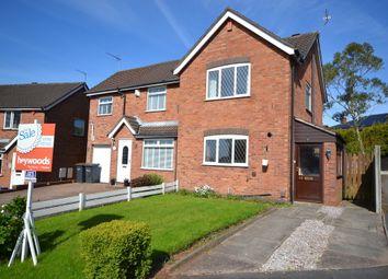 Thumbnail 2 bed semi-detached house for sale in Ashridge Avenue, Clayton, Newcastle-Under-Lyme