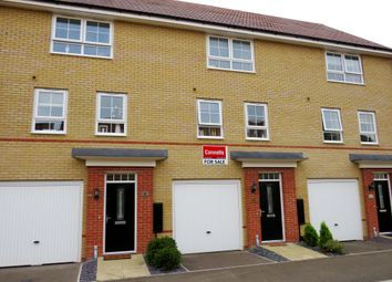 Thumbnail 3 bedroom terraced house for sale in Justice Way, Hampton Vale, Peterborough