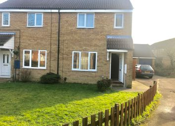 Thumbnail 3 bed semi-detached house to rent in The Rowans, Milton, Cambridge